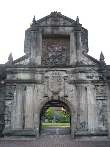 Intramuros tour fort santiago entrance gate
