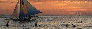 Photos of philippines boracay sunset