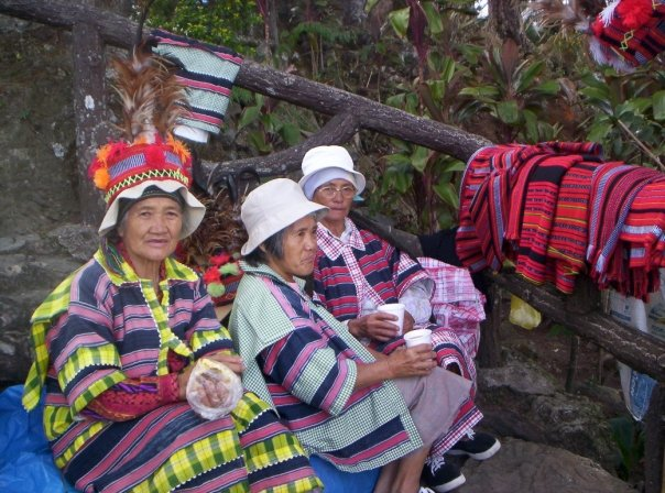 local native ladies benguet cordillera philippines
