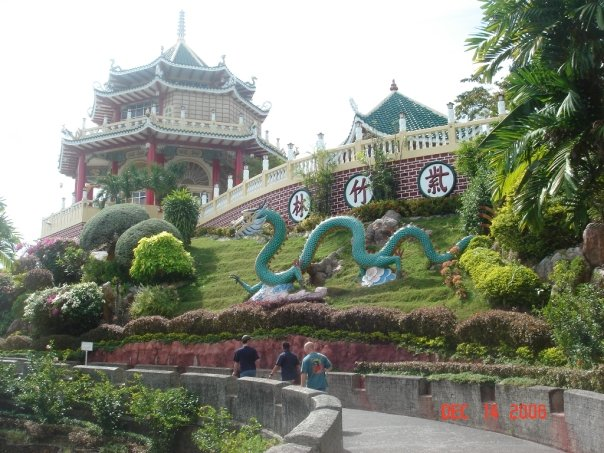 Cebu city Taoist Temple located in the Beverley Hills