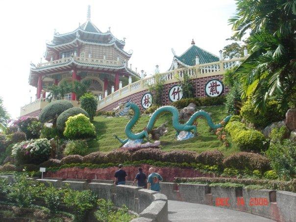 Cebu city Taoist Temple located in the Beverley Hills