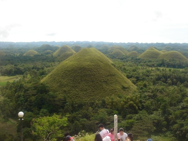 bohol Chocolate Hills are a freak of nature