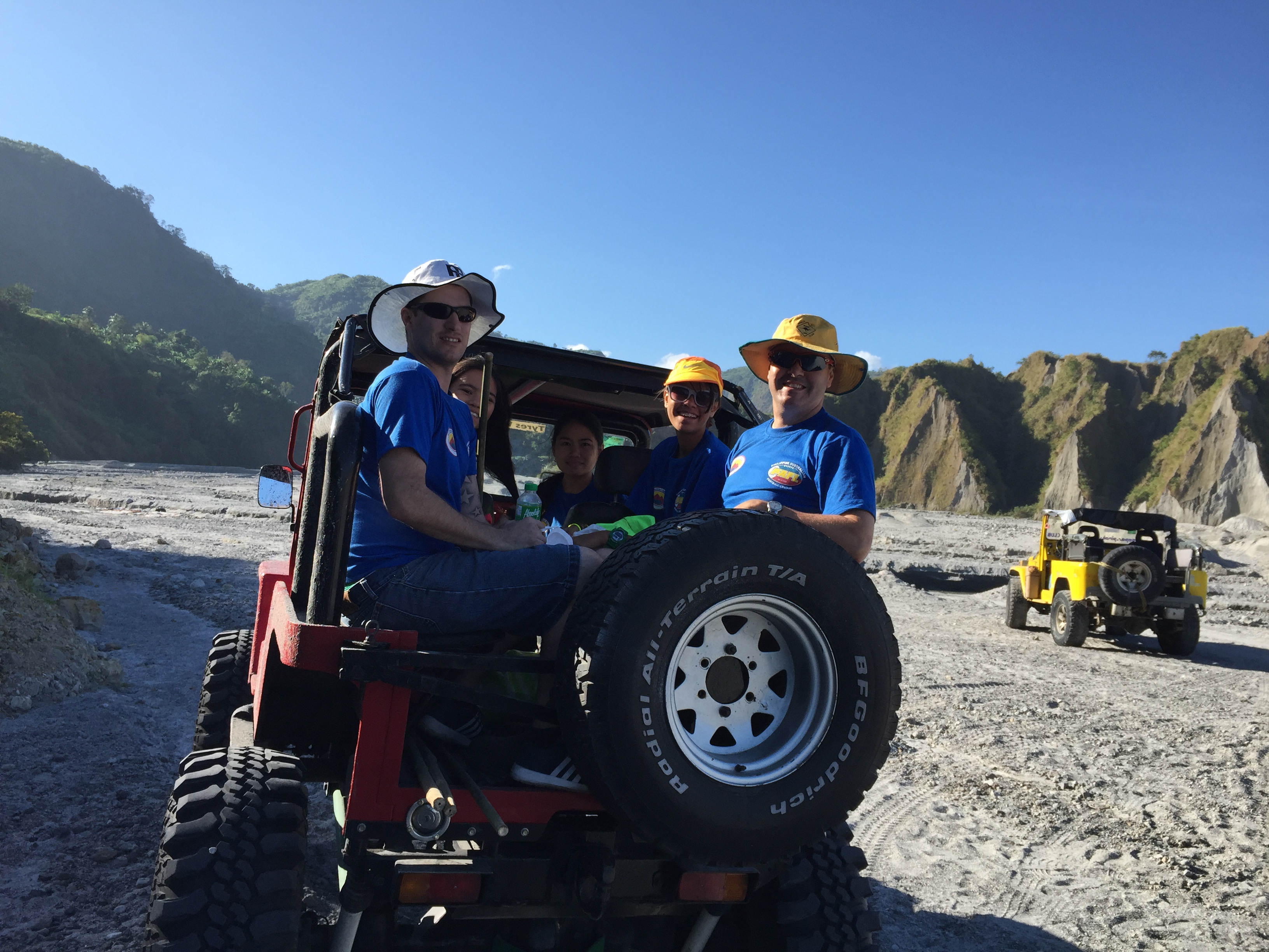 Mt. Pinatubo in the 4 x 4