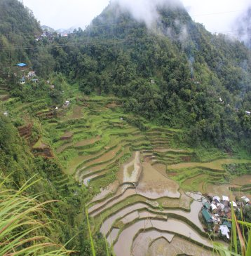 Bangaan Village and Rice Terraces Banaue Philippines