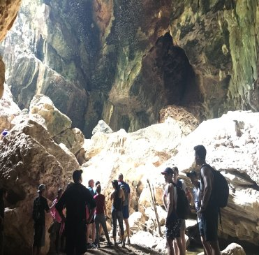 biak na bato cave was also off the Tawa Trail