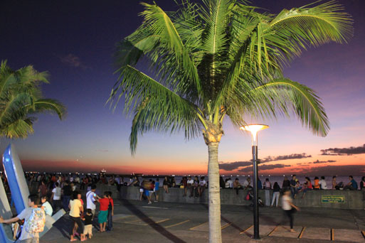 sunset bay city manila philippines