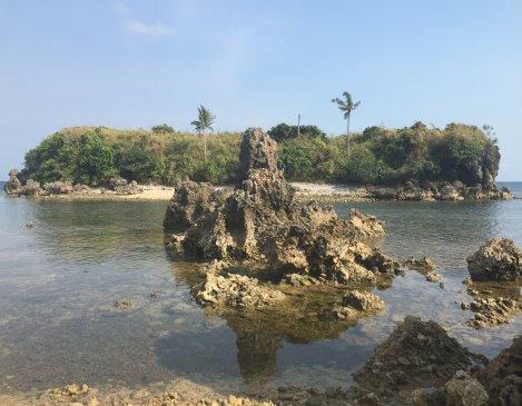 Crocodile Island Tambabong Dasol Pangasinan philippines