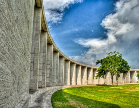 The memorial, or main building, Manila American Cemetery
