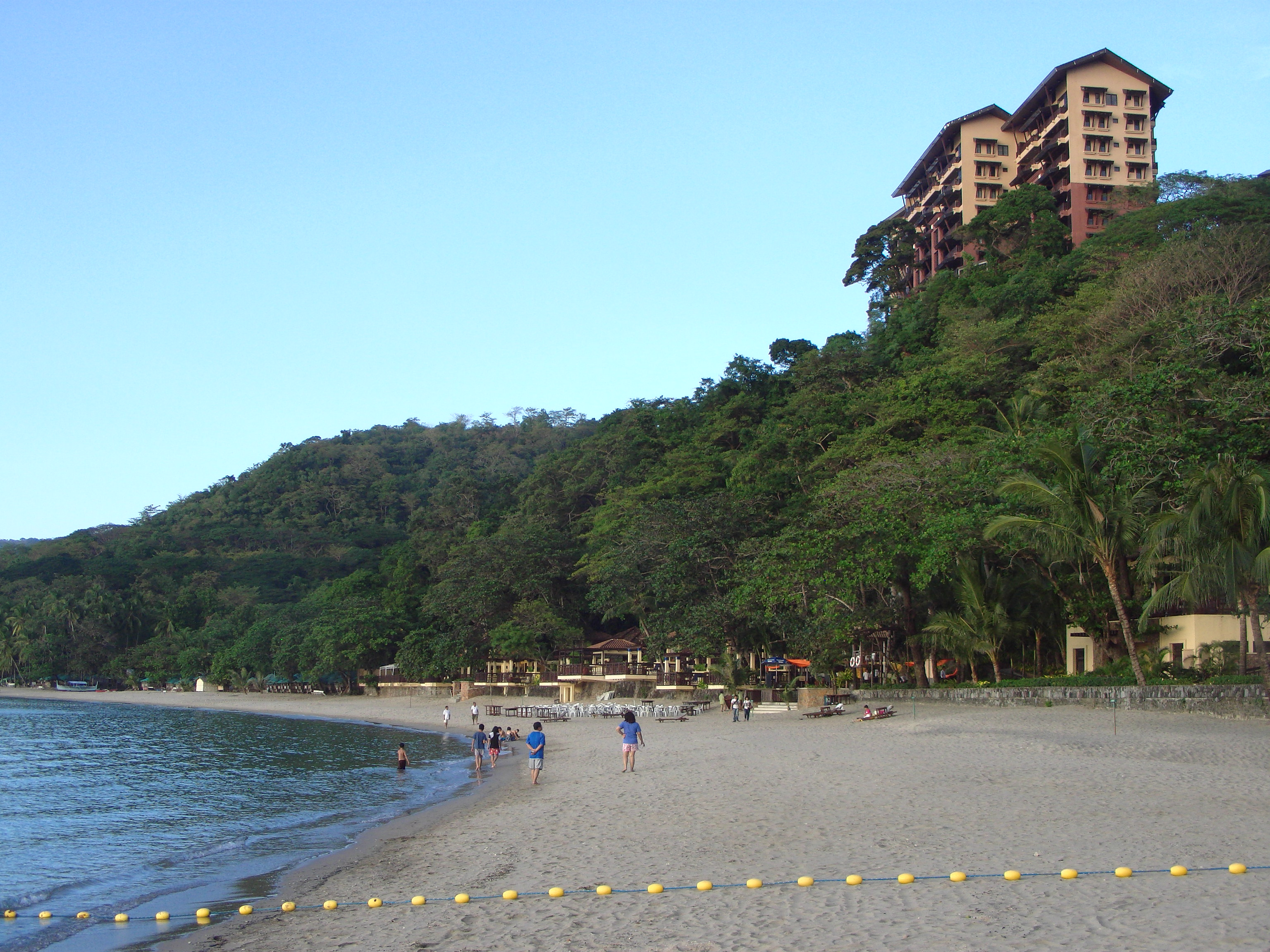 The beachfront at Terrazas De Punta Fuego