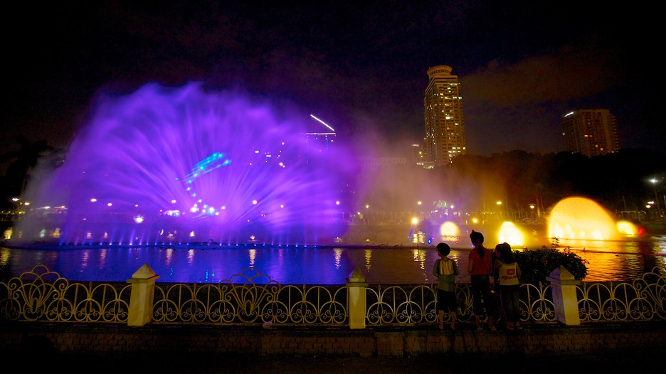 Rizal park manila dancing fountain
