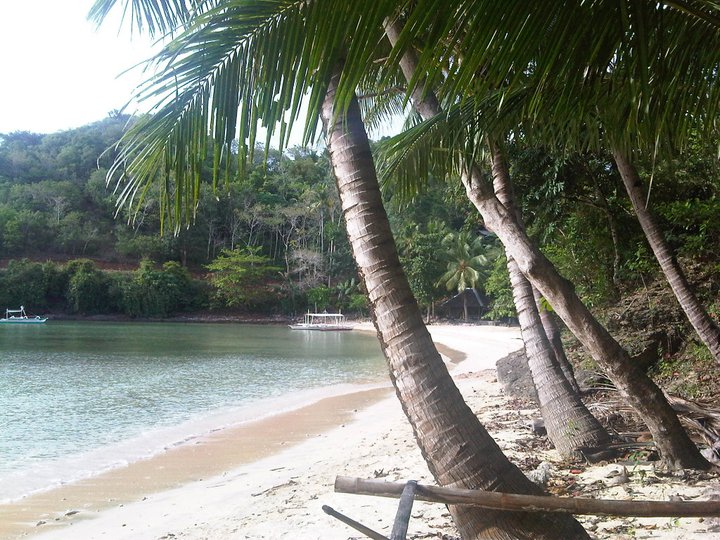 Balanban Point totally secluded beach