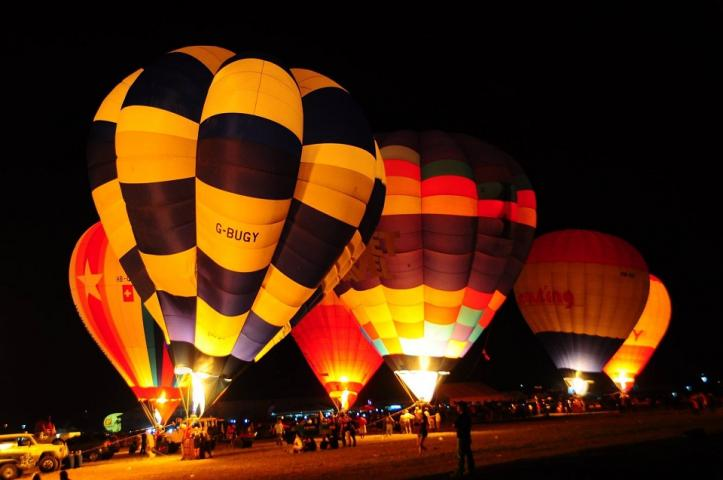 The annual Philippine International Hot Air Balloon Fiesta Clark