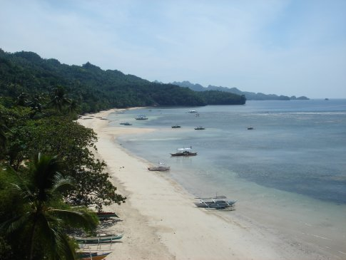 Elevated view of Punta Ballo Beach In Sipalay Is The Best Beach In Negros