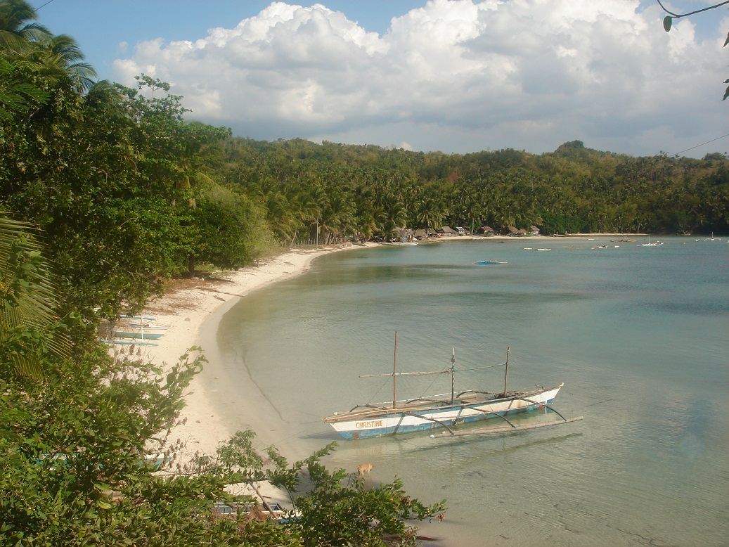 Cauayan Negros Calat-an Beach fishing village
