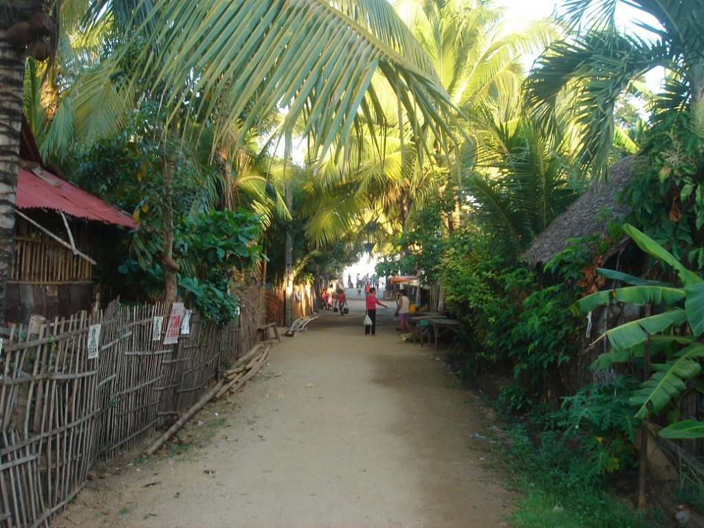 typical backstreets in Sipalay City