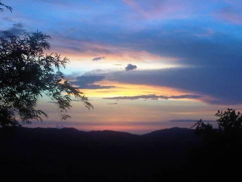 Hinoba-an sunset