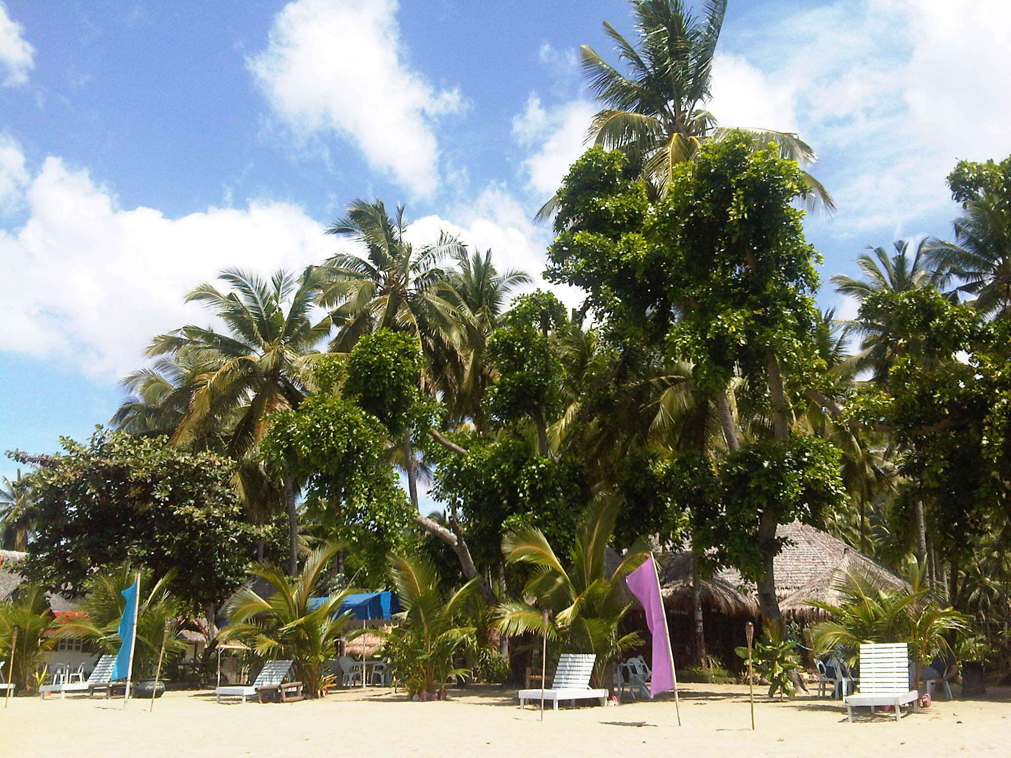 Basay main beach