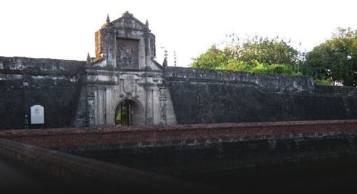 Intramuros tour fort santiago