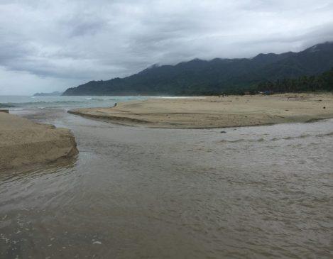 Dipaculao Beach near Baler Dinadiawan aurora province Philippines