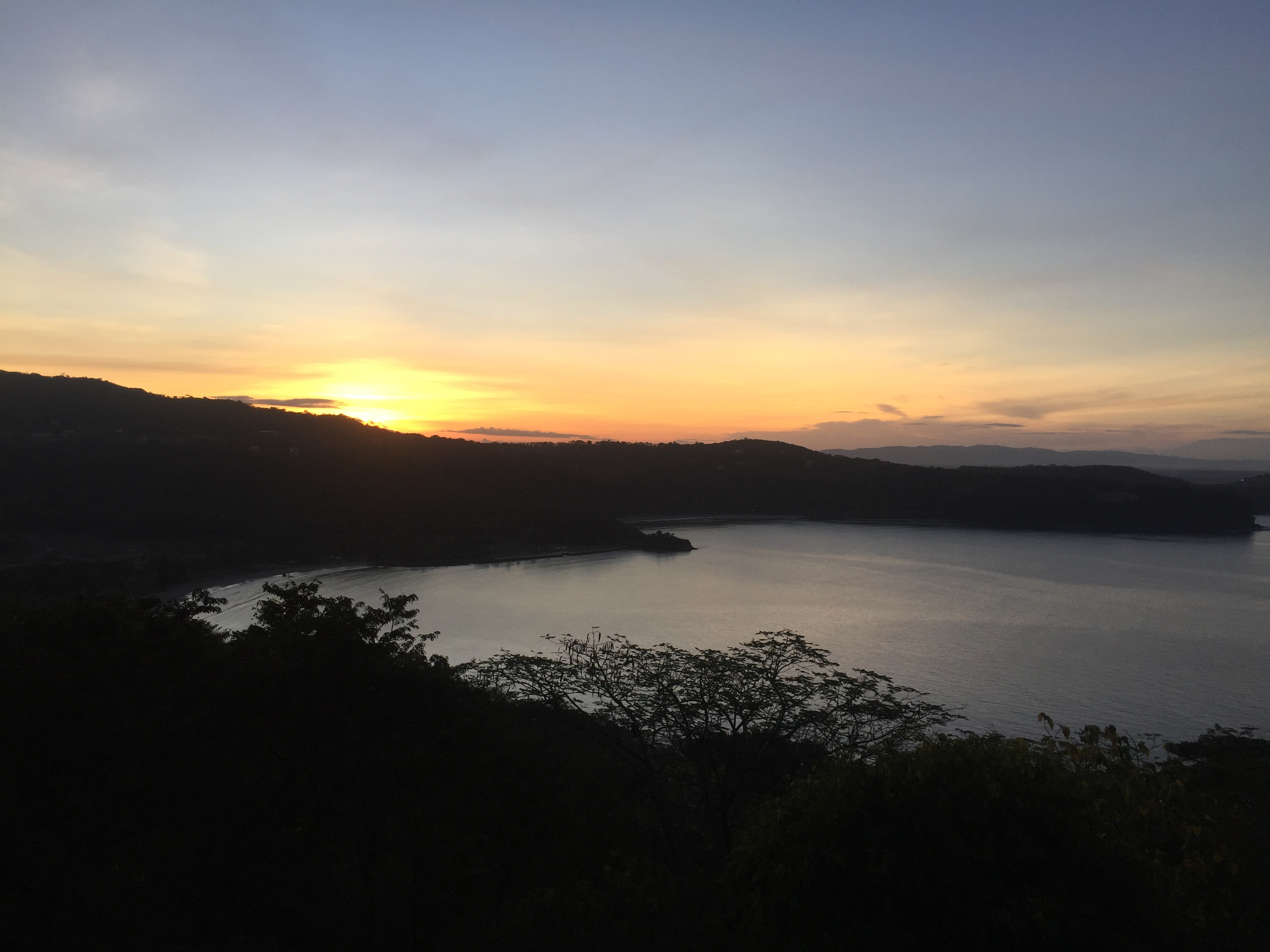 Maya maya sunrise view