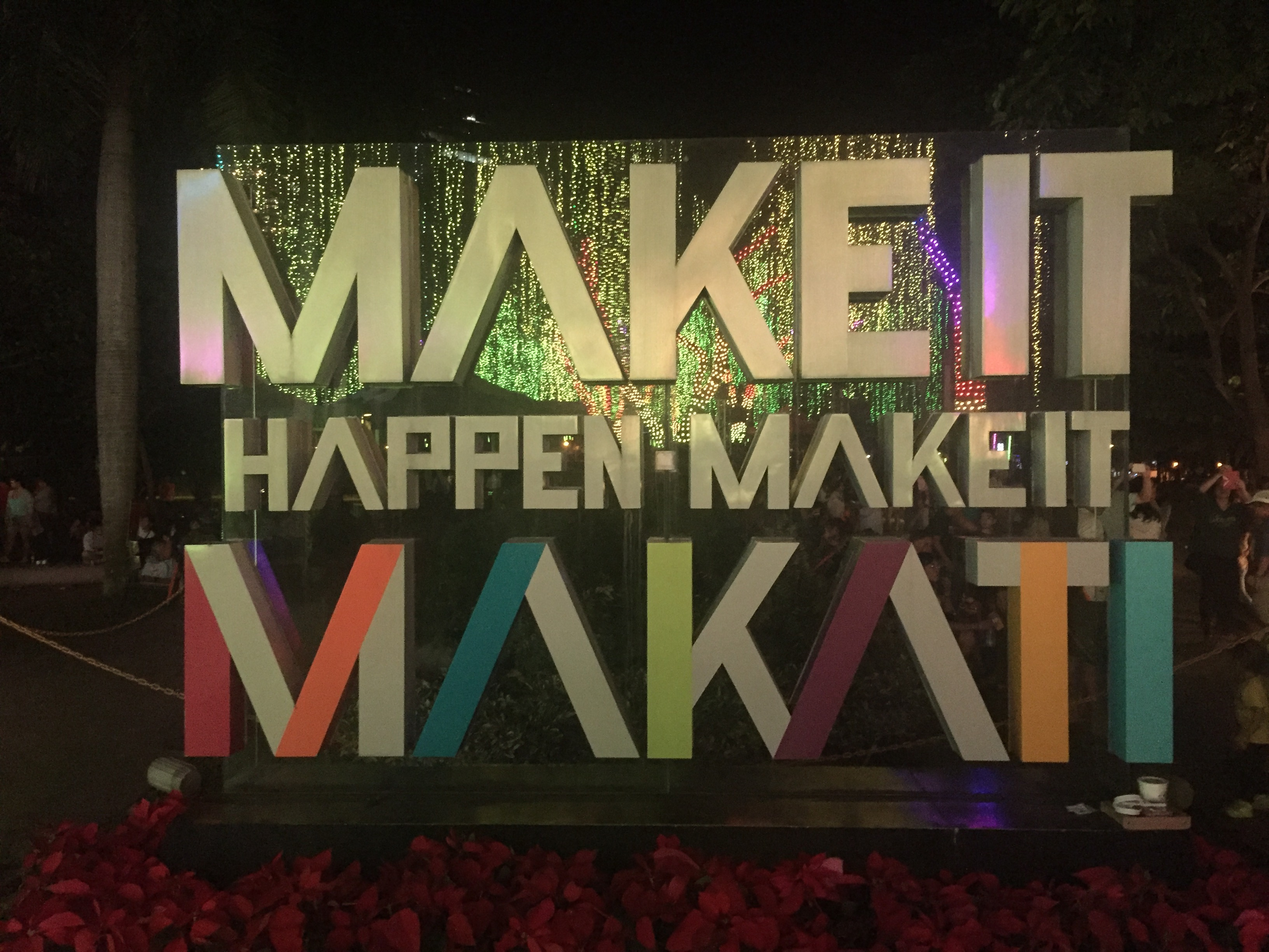 Ayala triangle gardens make it happen make it makati