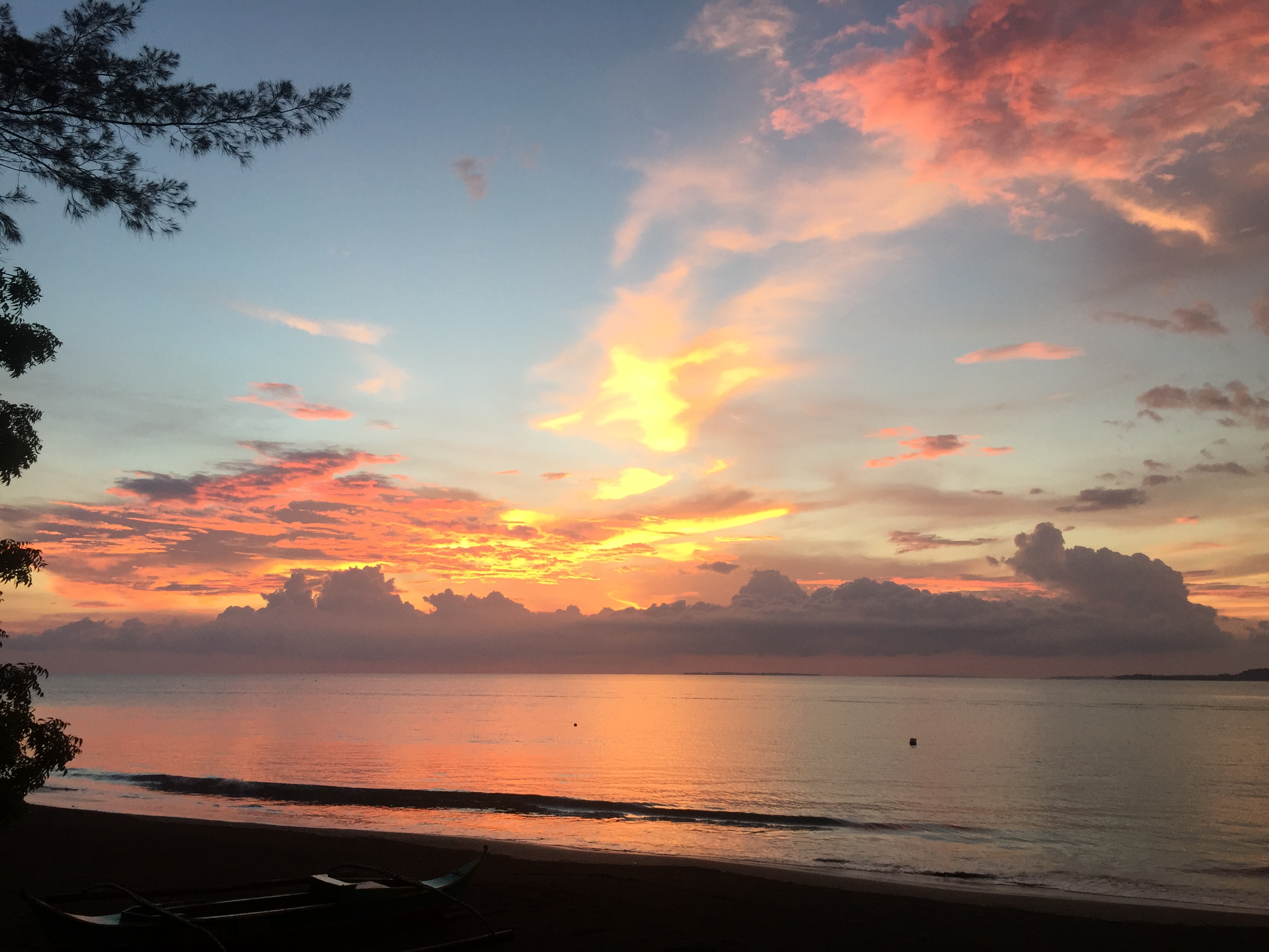 best beaches near manila with epic sunset at potipot island