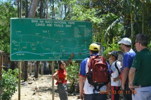 tourist spot in luzon Biak na bato map