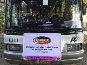 mt pinatubo tour bus