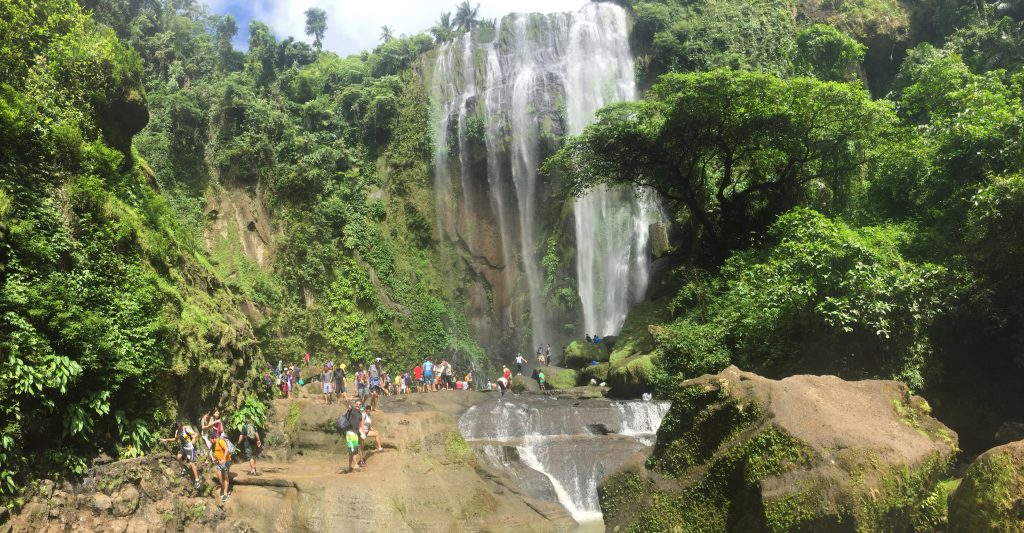 Hulugan Falls Laguna amazing waterfall Luzon