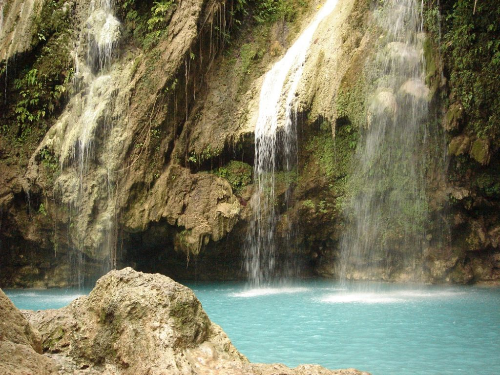 Mag aso Falls best 8 waterfalls in the philippines