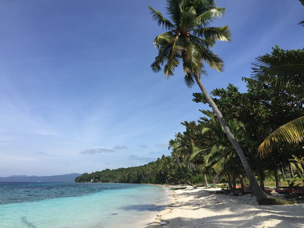 Talikud island best beach in the Philippines