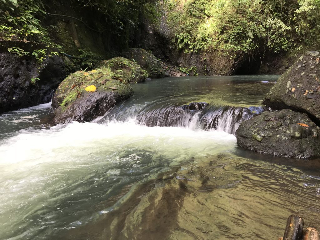 One of the first rapids on Panguil River at Ambon Ambon Falls