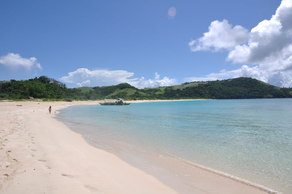Southern Luzon, Calaguas has amazing white sand beaches.
