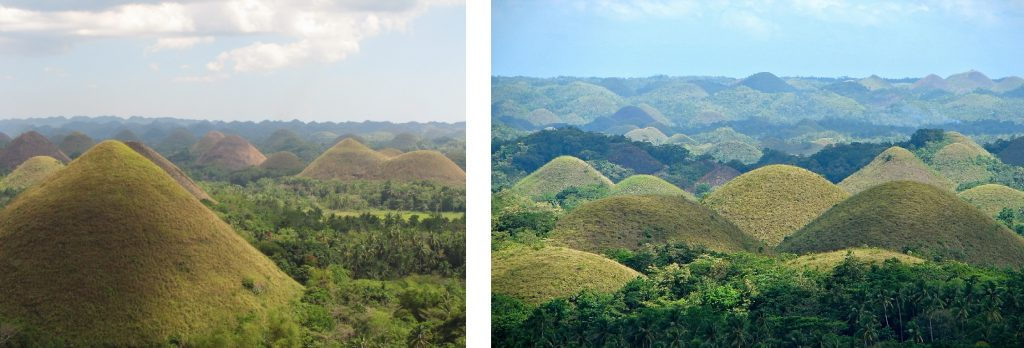 Chocolate Hills Philippines best country in Asia