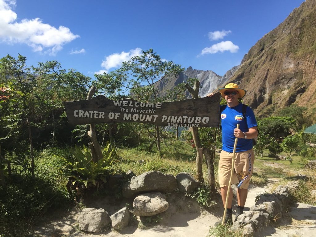Mt Pinatubo, Northern Luzon