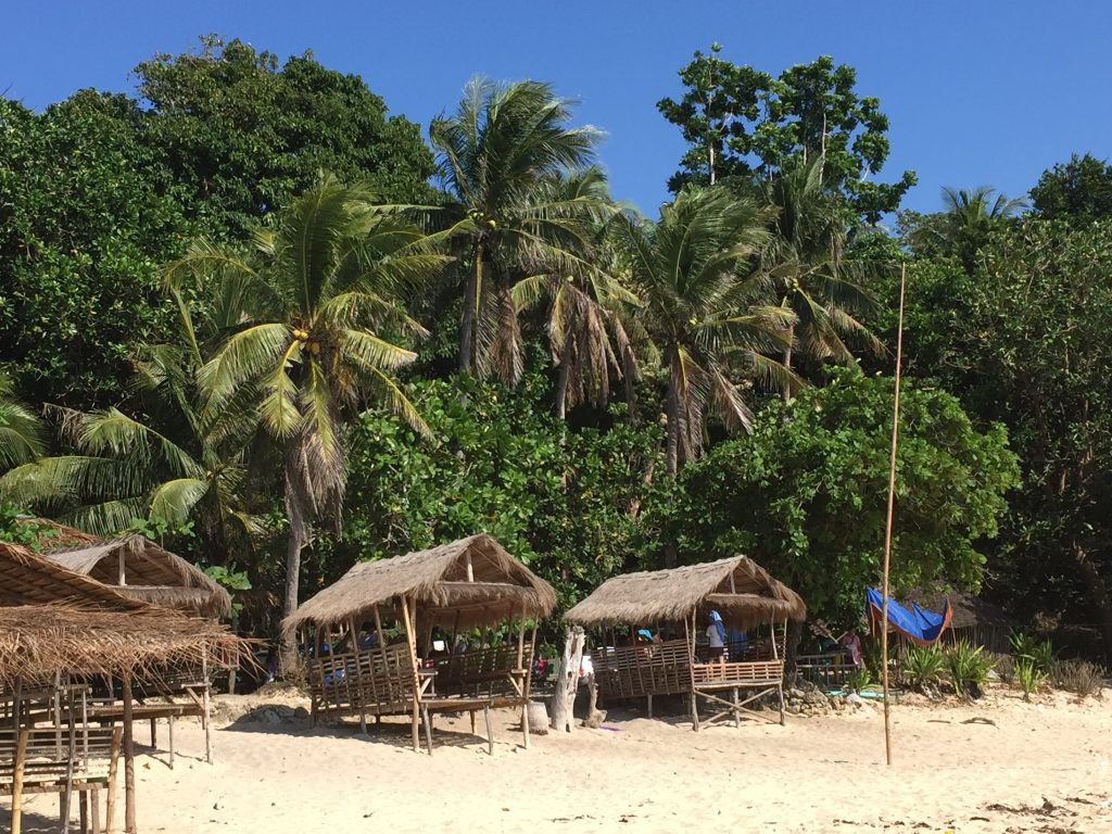 Northern Luzon Patar white beach in Bolinao