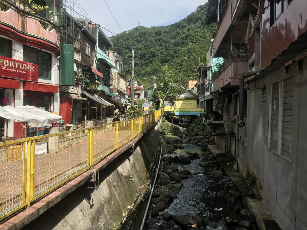 There are a number of canals that run through Paete.