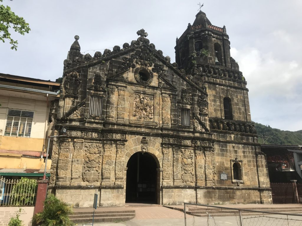 St James church Paete which dates back to 1646