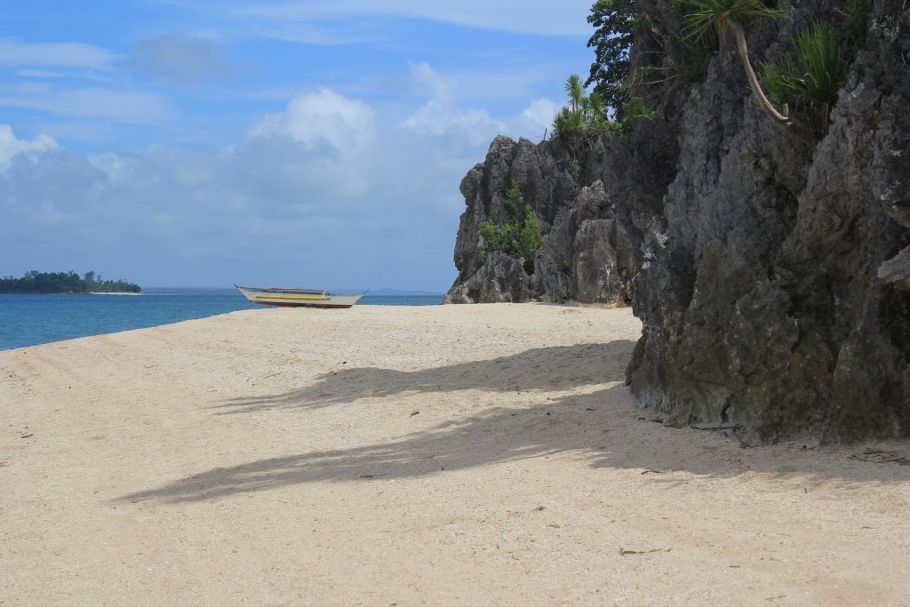 Borawan Island beautiful white sand beach, Southern Luzon