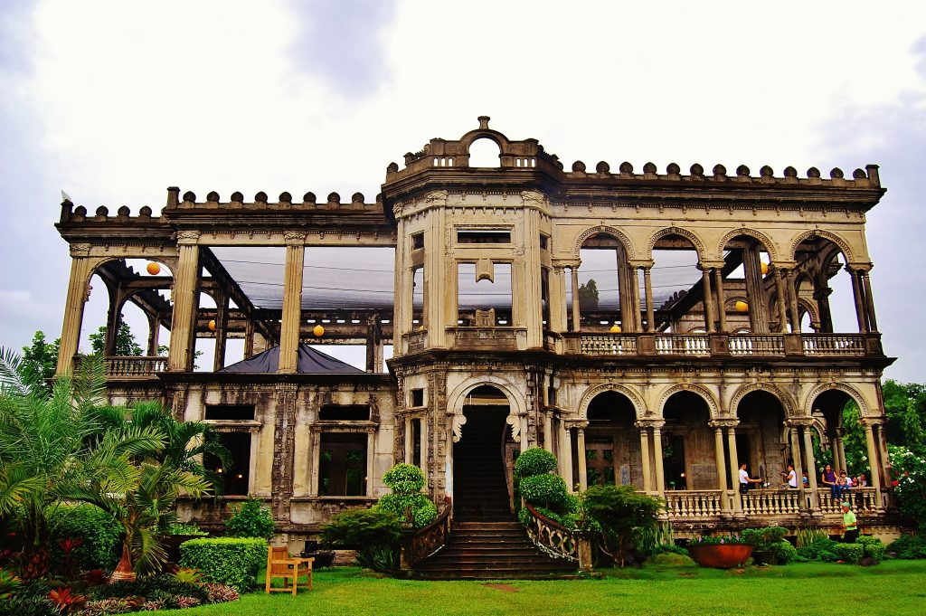 Negros the ruins in Bacolod