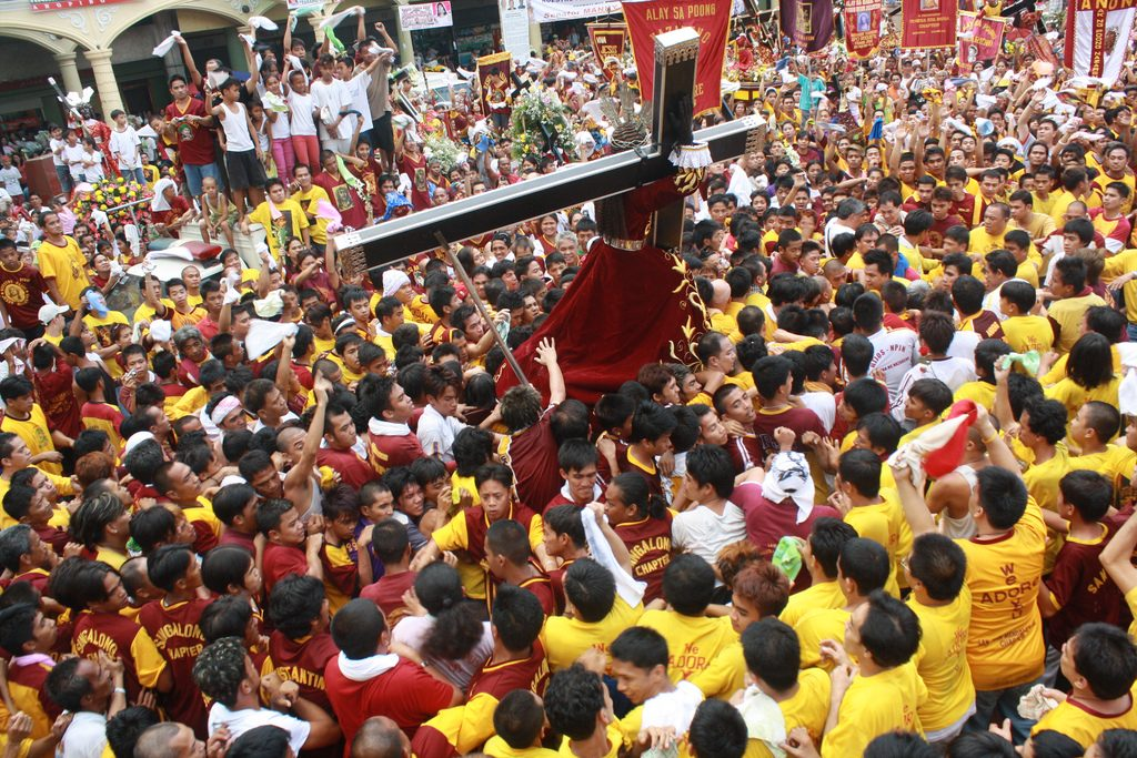 Filipino culture and the Procession of the Black Nazarene