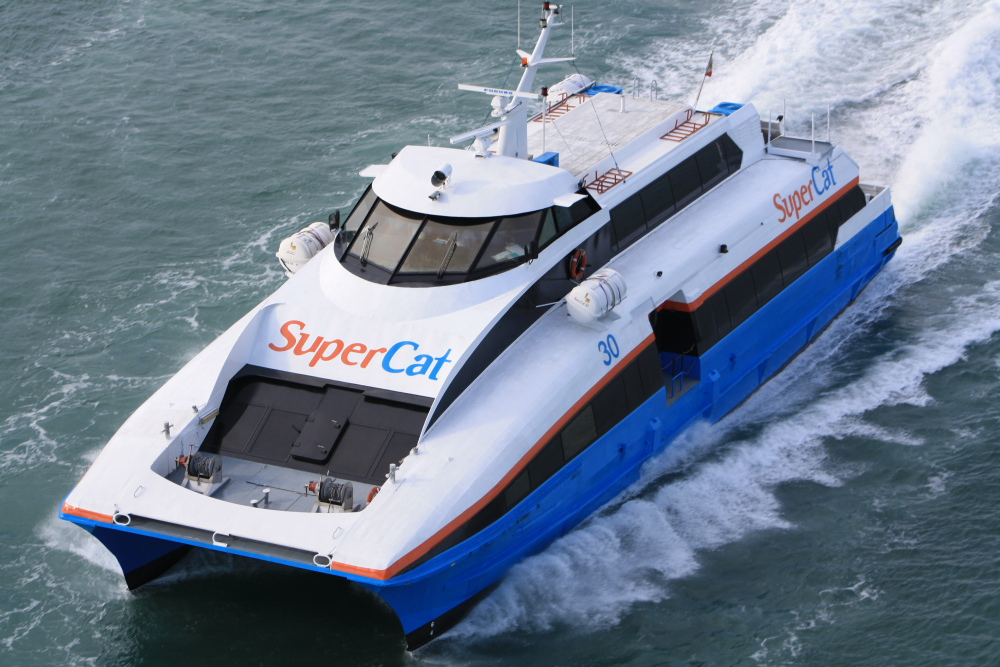 Philippines transport fast ferries