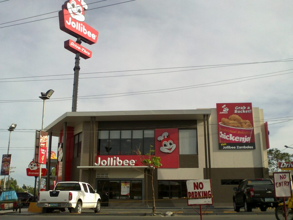 Filipino cuisine and Jollibee Philippines biggest fast food chain