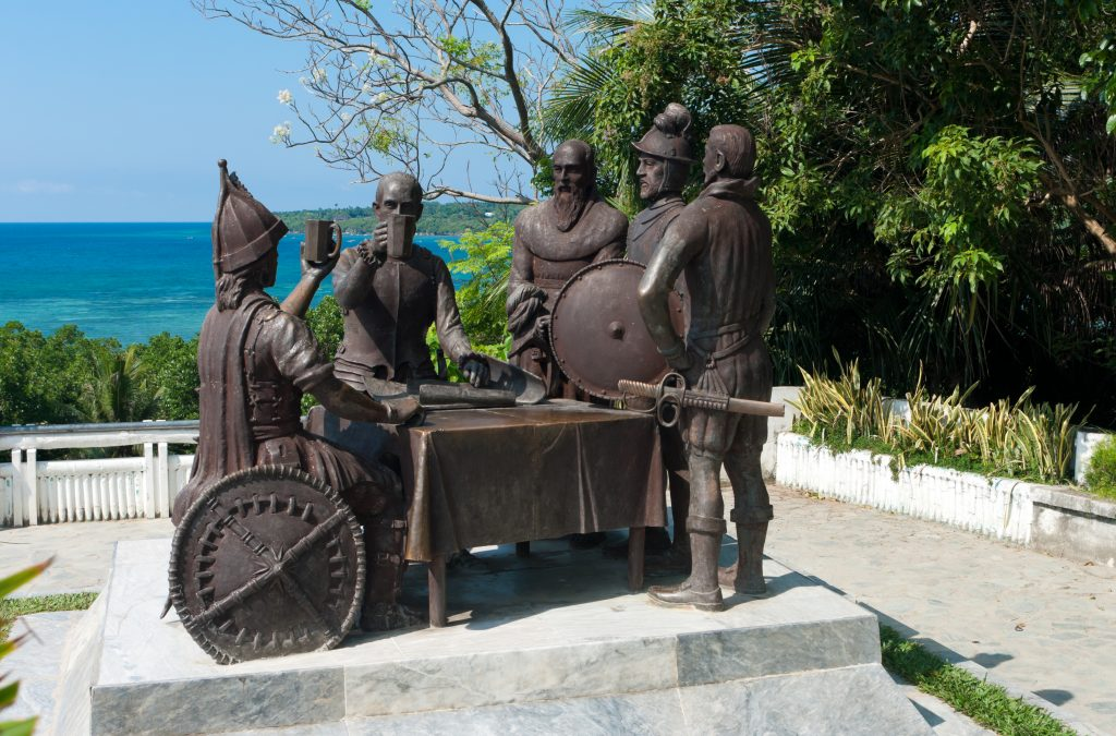 Understanding Philippines History Bohol Blood Compact Site located in Tagbilaran City, Bohol
