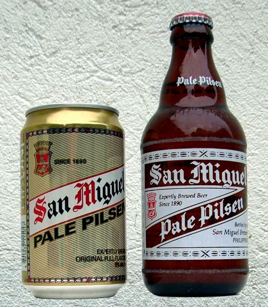 Filipino cuisine and San Miguel Philippines biggest brewer