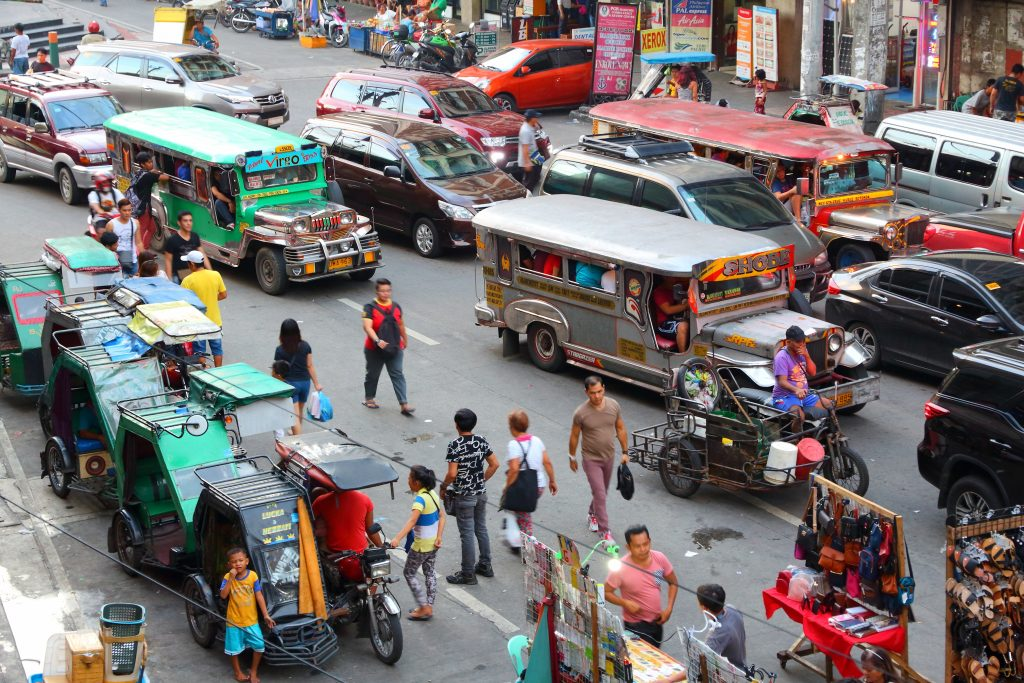 Personal safety in the Philippines as a pedestrian
