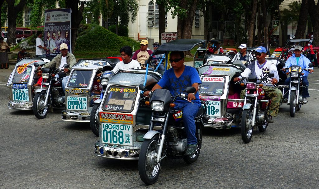 Philippines transport tricycle