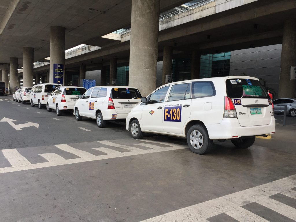 Philippines transport NAIA airport taxi