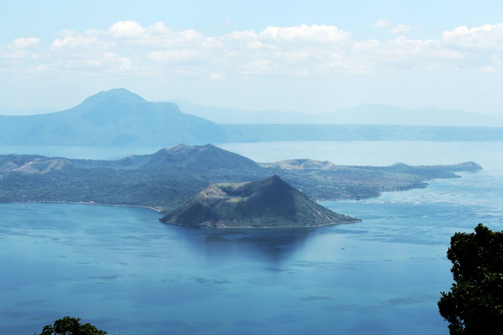 Taal volcano Batangas province