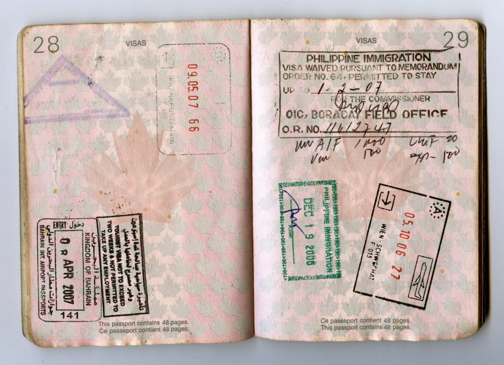 first timers travel guide passport